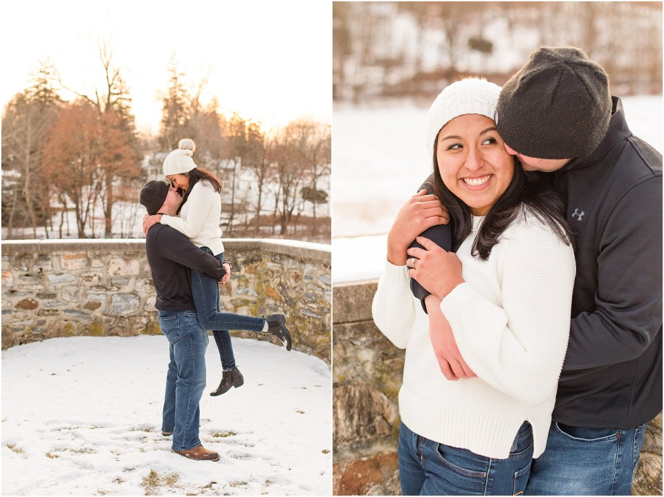 Brad & Mary's Snowy Winter Engagement at Valley Forge Park in Wayne, PA_0017.jpg