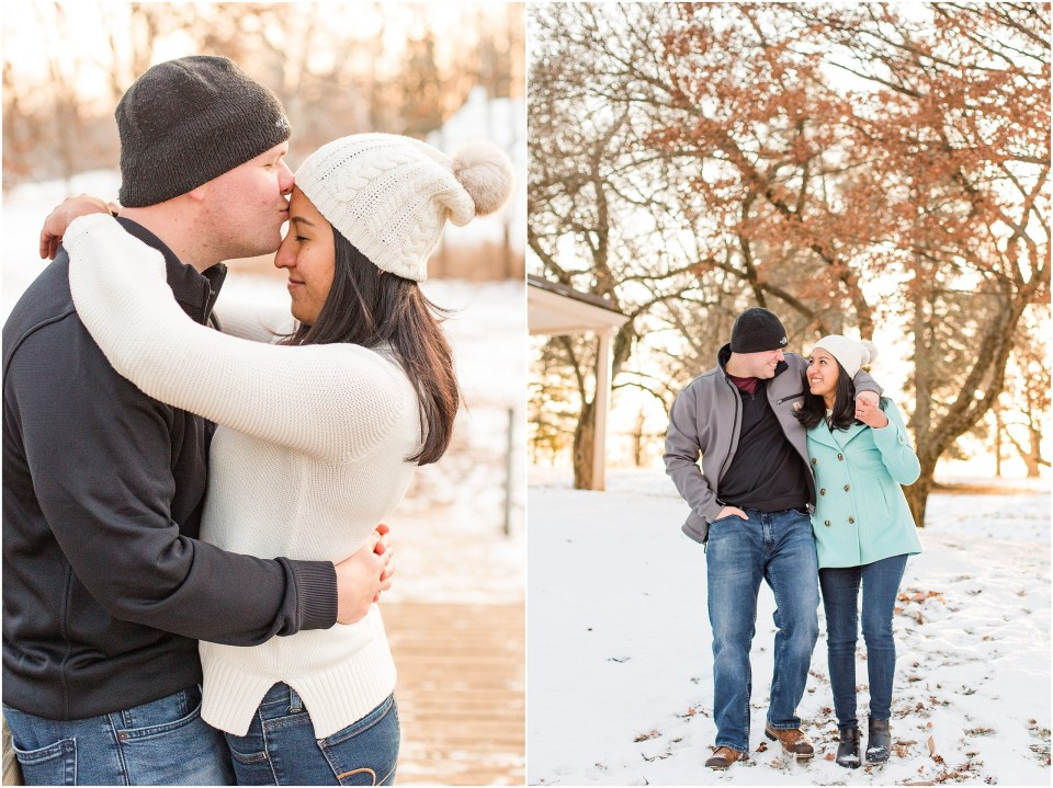 Brad & Mary's Snowy Winter Engagement at Valley Forge Park in Wayne, PA_0023.jpg