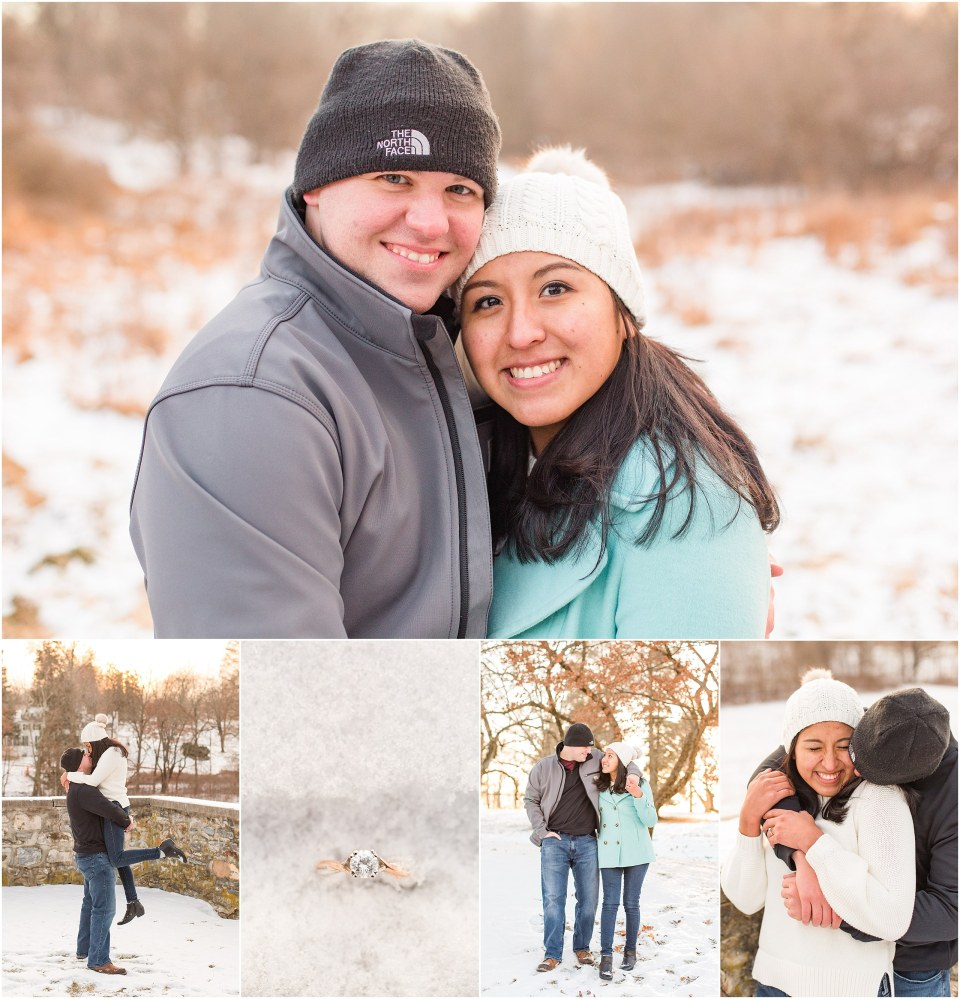 Brad & Mary's Snowy Winter Engagement at Valley Forge Park in Wayne, PA_0025.jpg