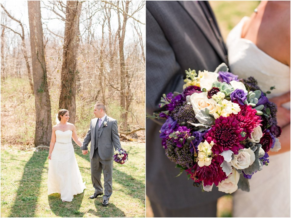 Andy & Stacy's Grey & Lavender Wedding at The Barn on Bridge in Collegeville, PA_0016.jpg