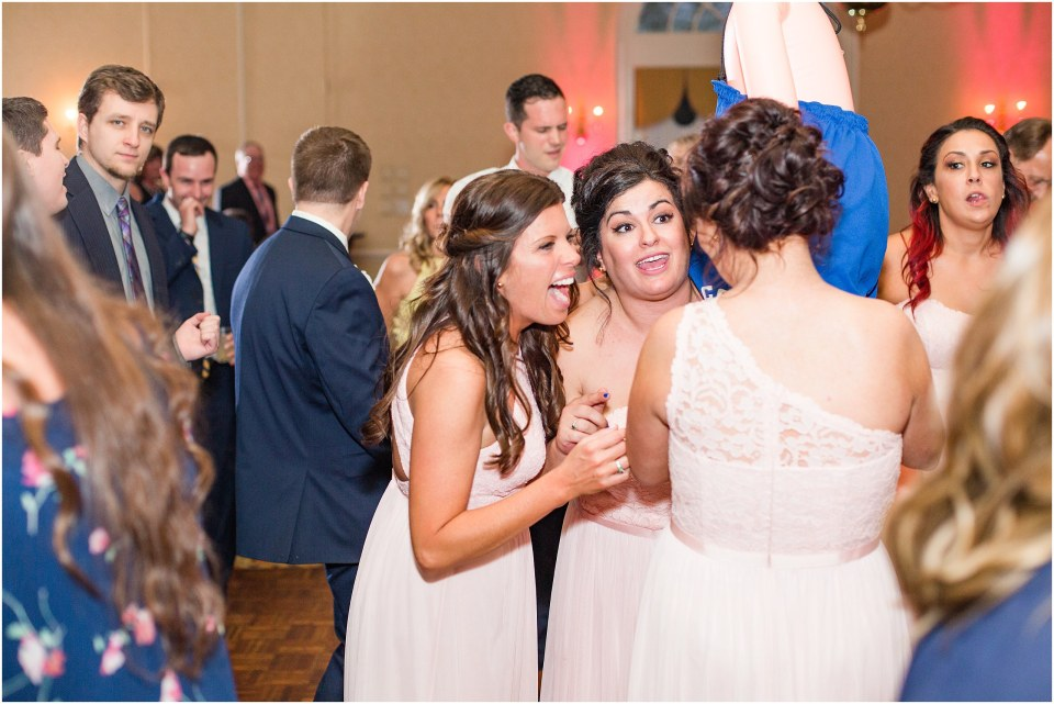 MIke & Jenny's Navy & Blush Wedding at Spring Mill Manor Photos,