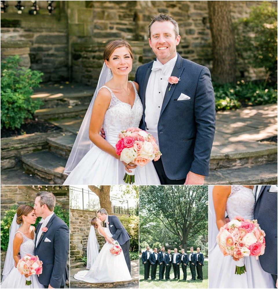 Patrick & Emily\'s Navy & Blush Black Tie Wedding at Bluestone ...