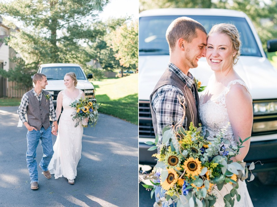 Sheldon & Stephanie's Rustic Country Fall Wedding at The Barn on Bridge Photos
