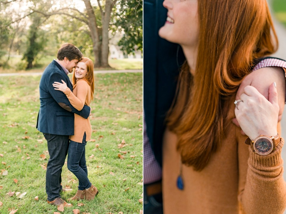 Valley Forge Engagement - Fall Engagement - Josiah & Steph Photography