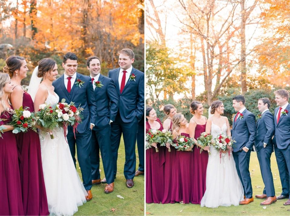 Alex & Jen's Cold November Wedding at Huntingdon Valley Country Club Photos