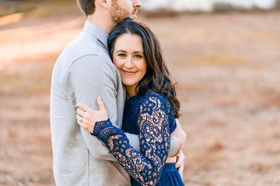 Matt & Molly's Colorful Fall Engagement at Valley Forge Park