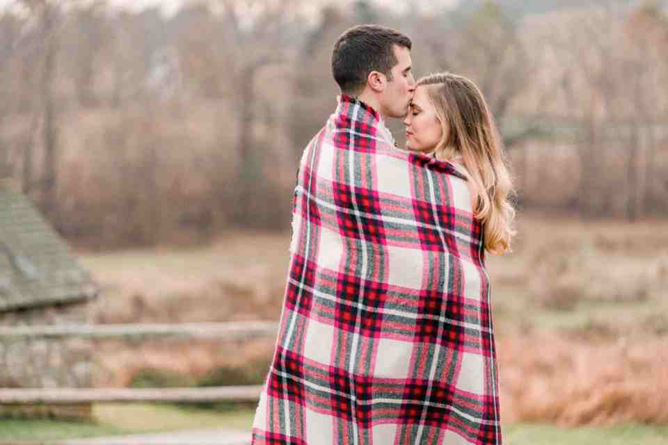 Ryan & Ali Engagement in Valley Forge Park Photos