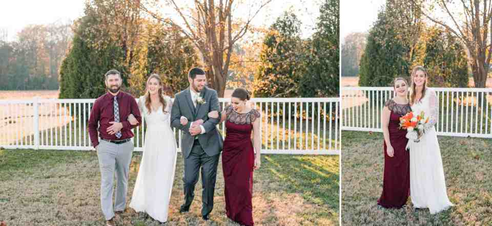 Adam & Lauren November Backyard Wedding Favorites