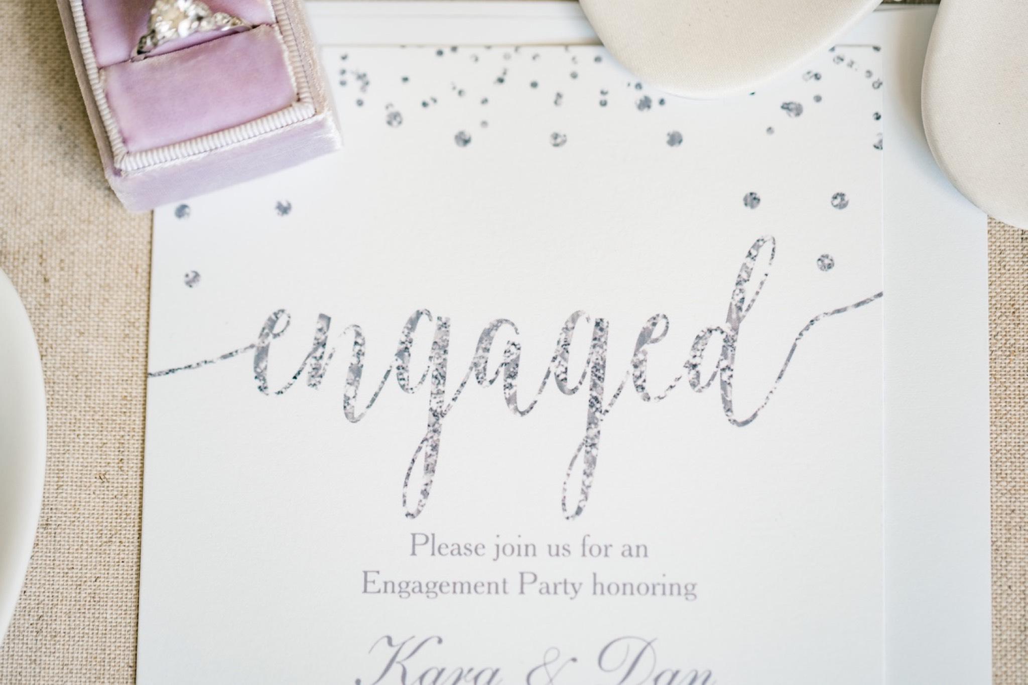 Engagement Invitation Staten Island Wedding