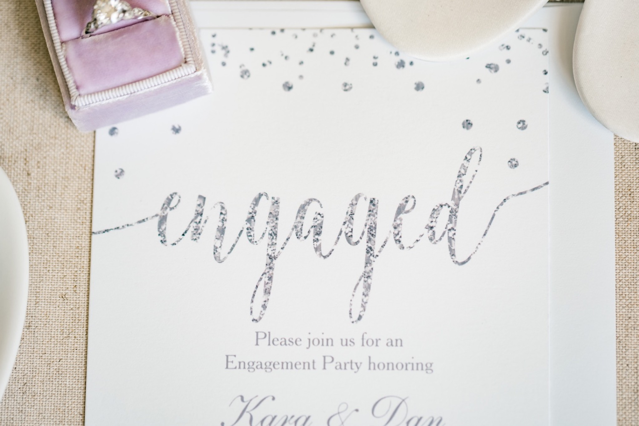 Engagement Invitation Staten Island Wedding