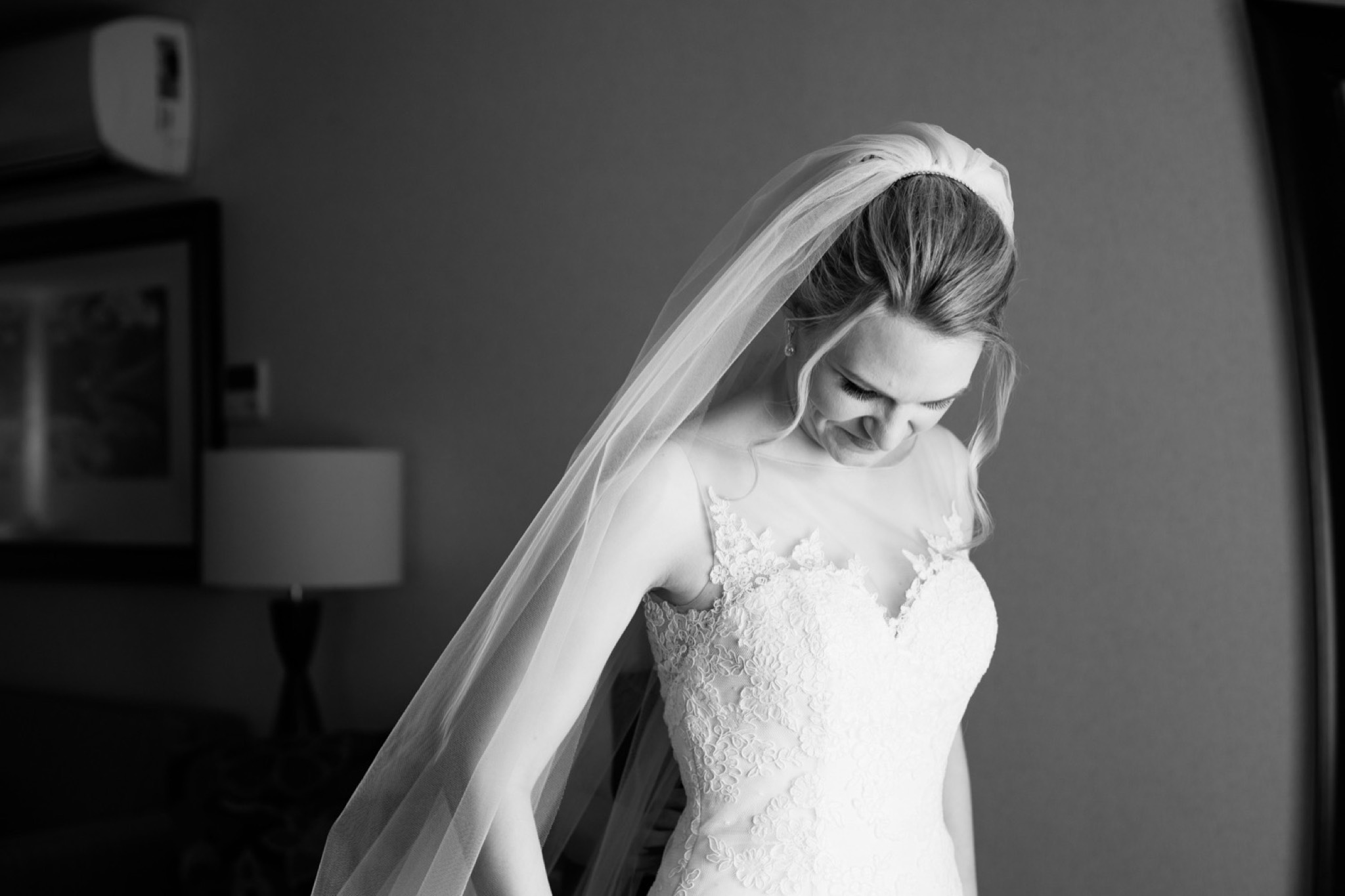 Black & White Staten Island Wedding