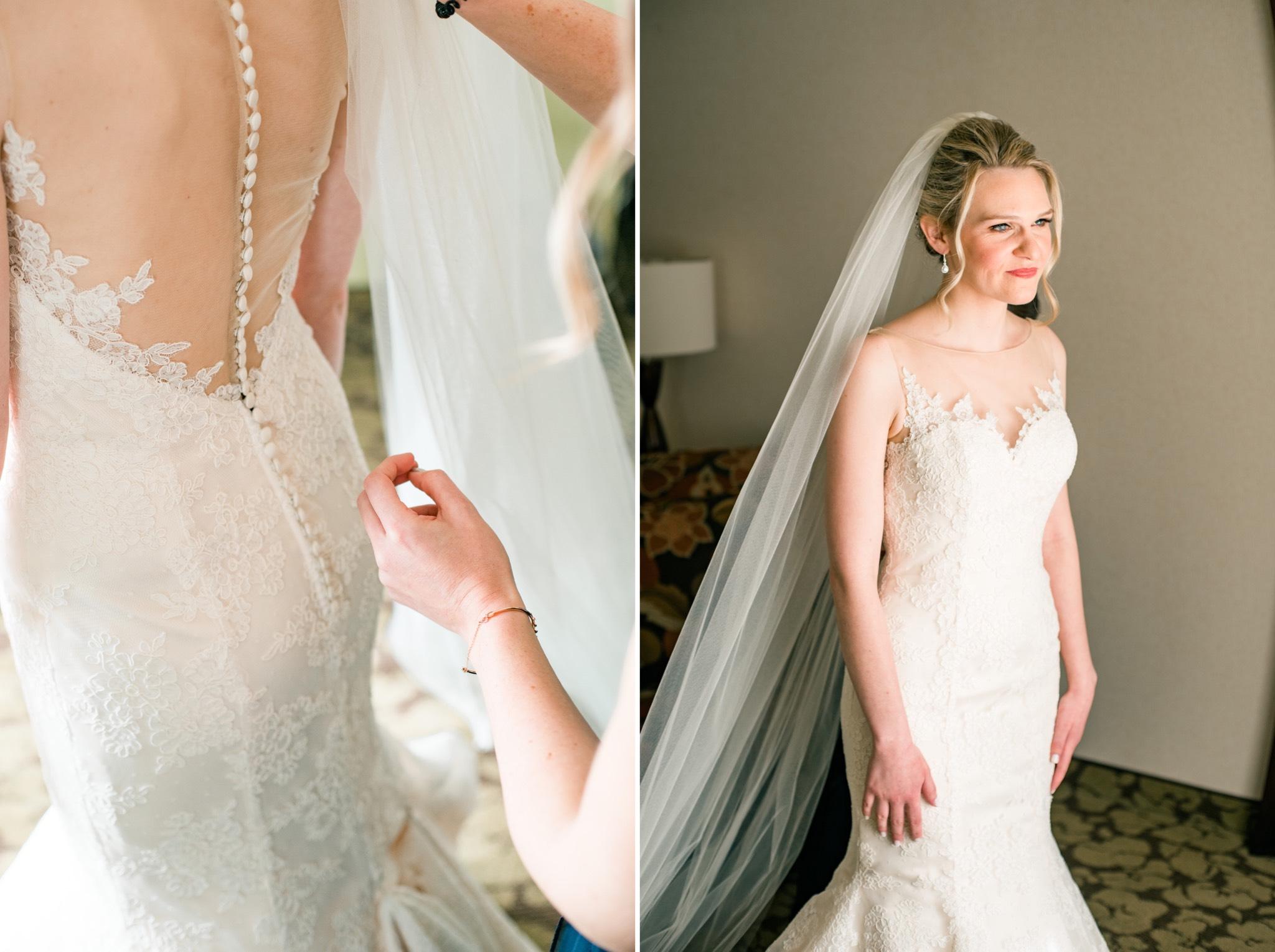 Button Up Dress Staten Island Wedding