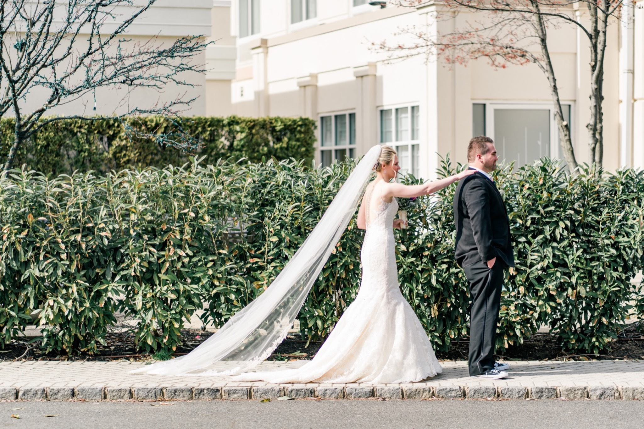 First Look Staten Island Wedding