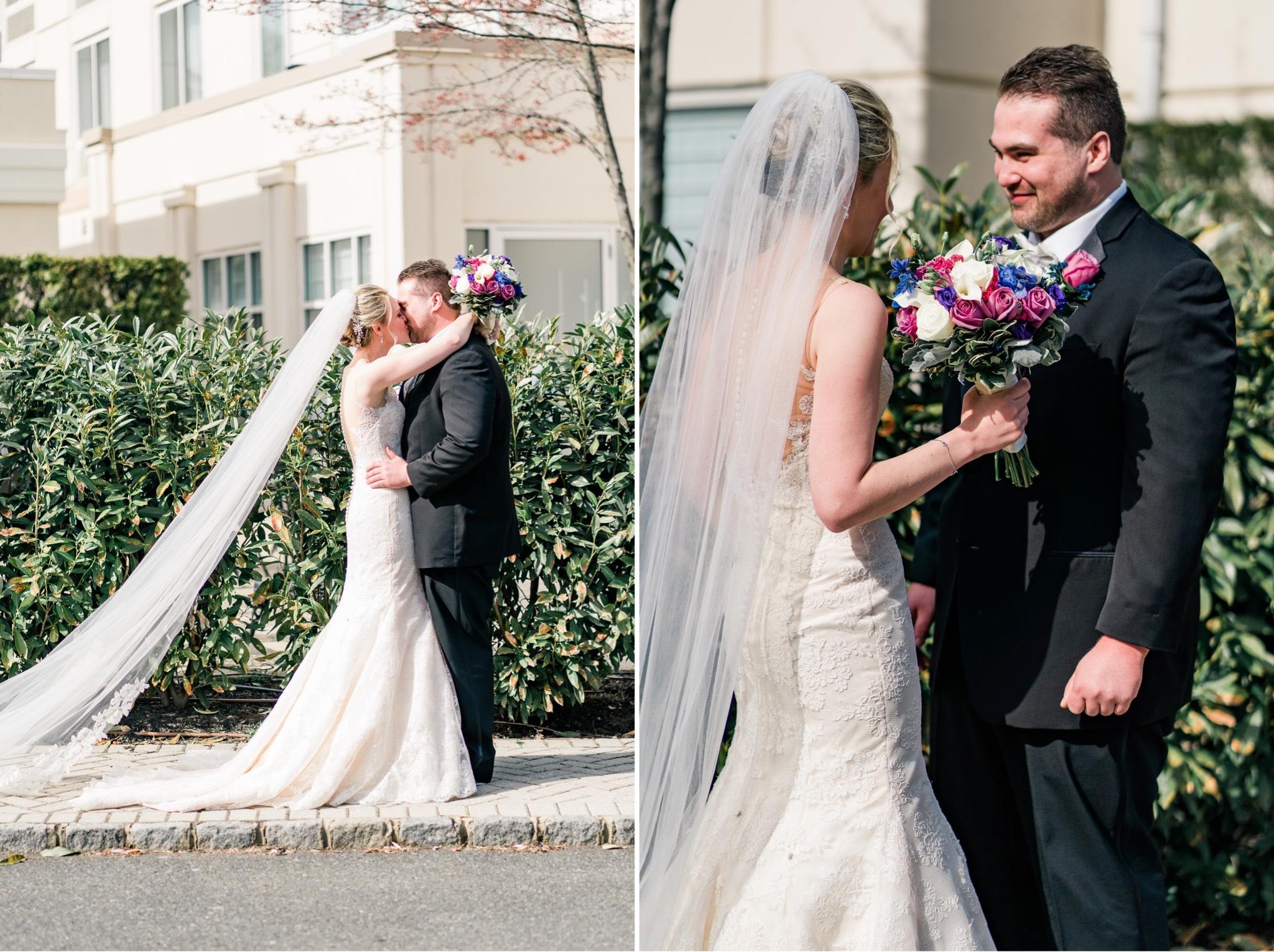 First Look Staten Island Wedding