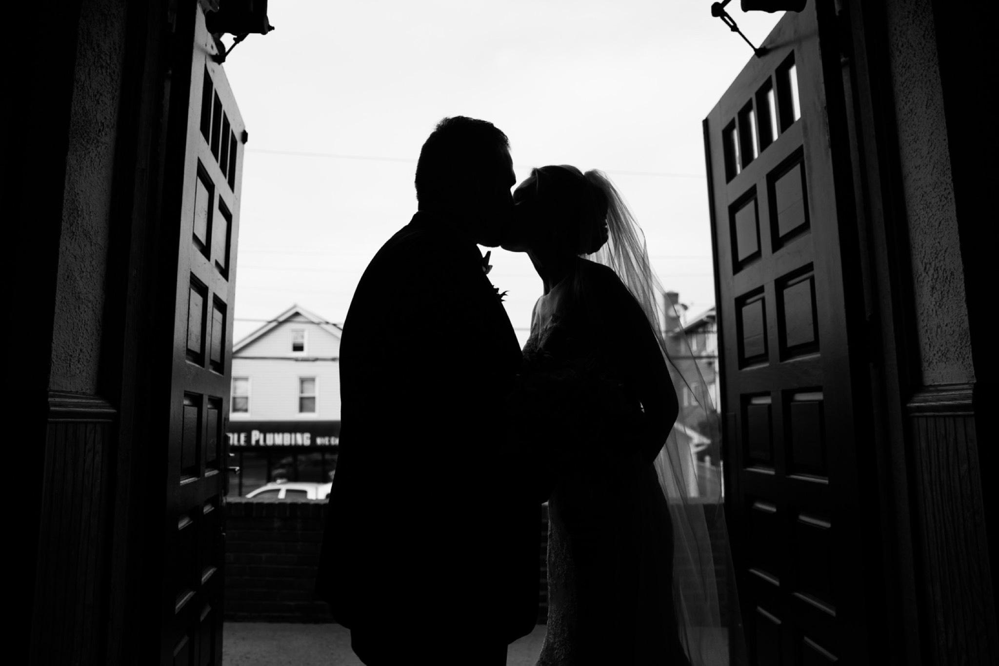 Silhouette Staten Island Wedding