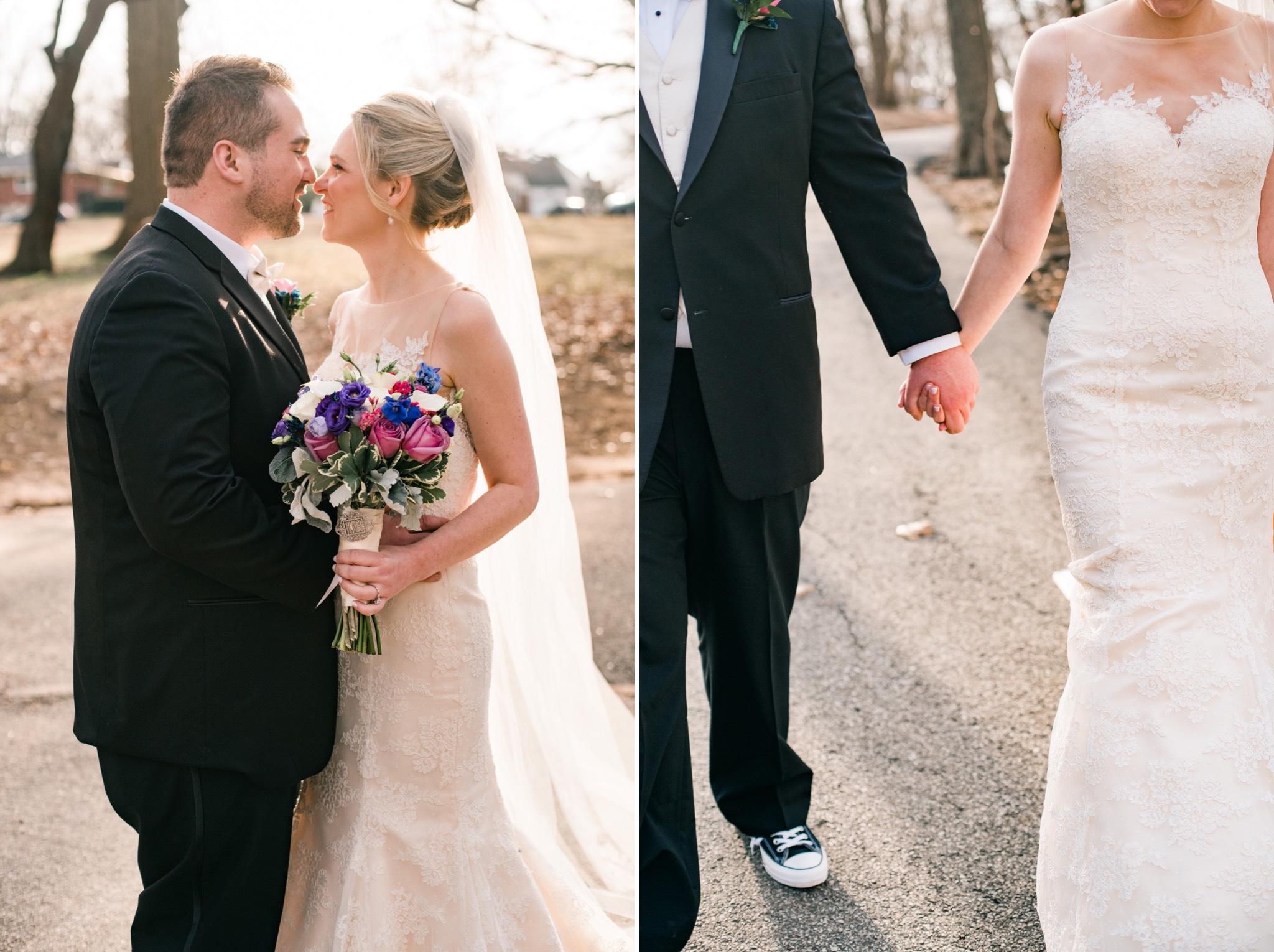 Holding Hands Staten Island Wedding