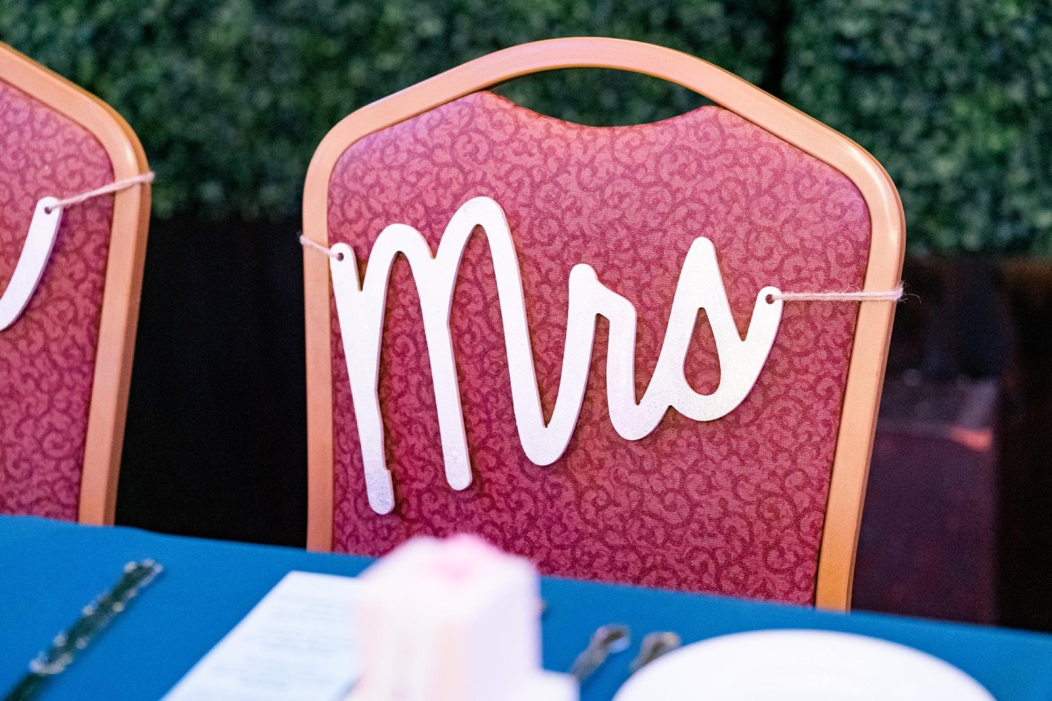 Mrs Sign Staten Island Wedding
