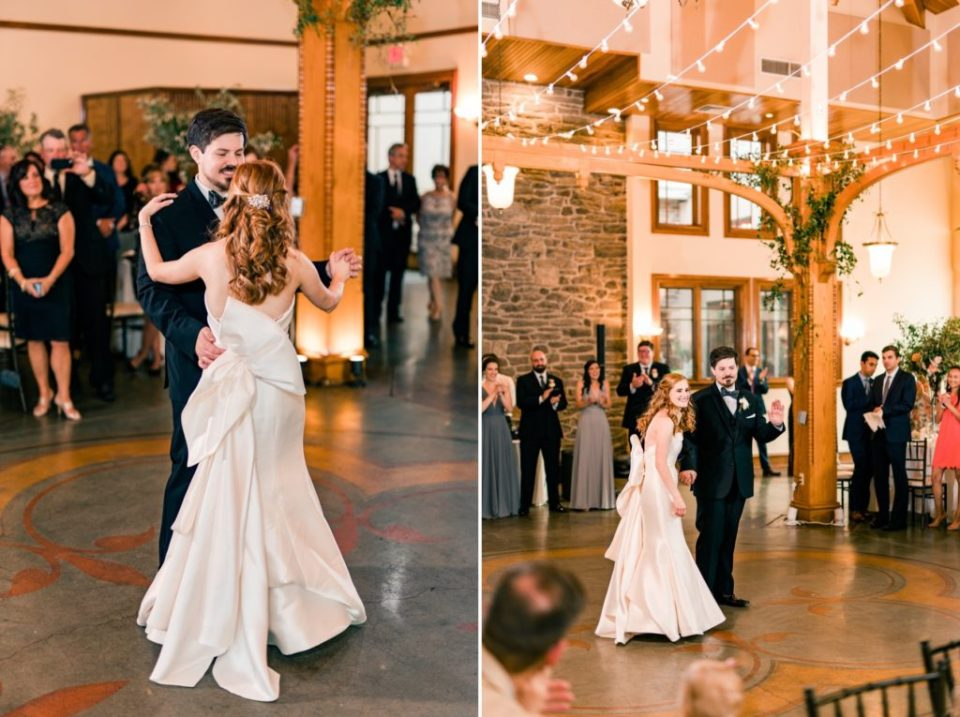 First Dance Bride and Groom - Knowlton Mansion