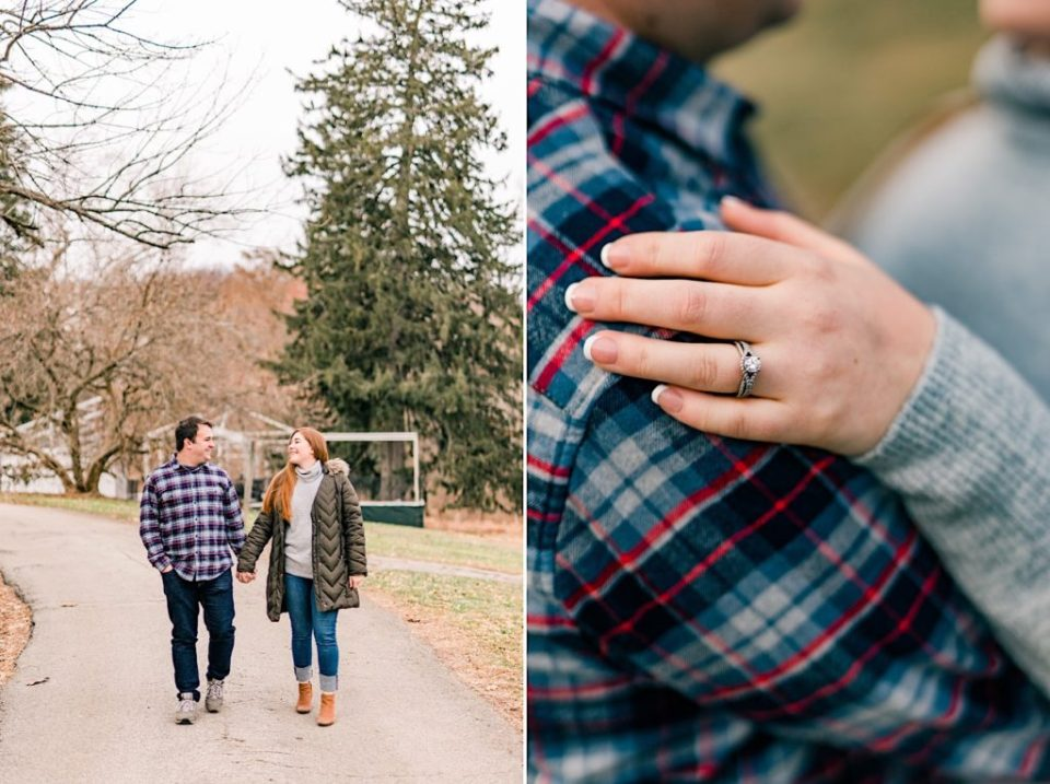 Valley Forge Park Engagement Photos