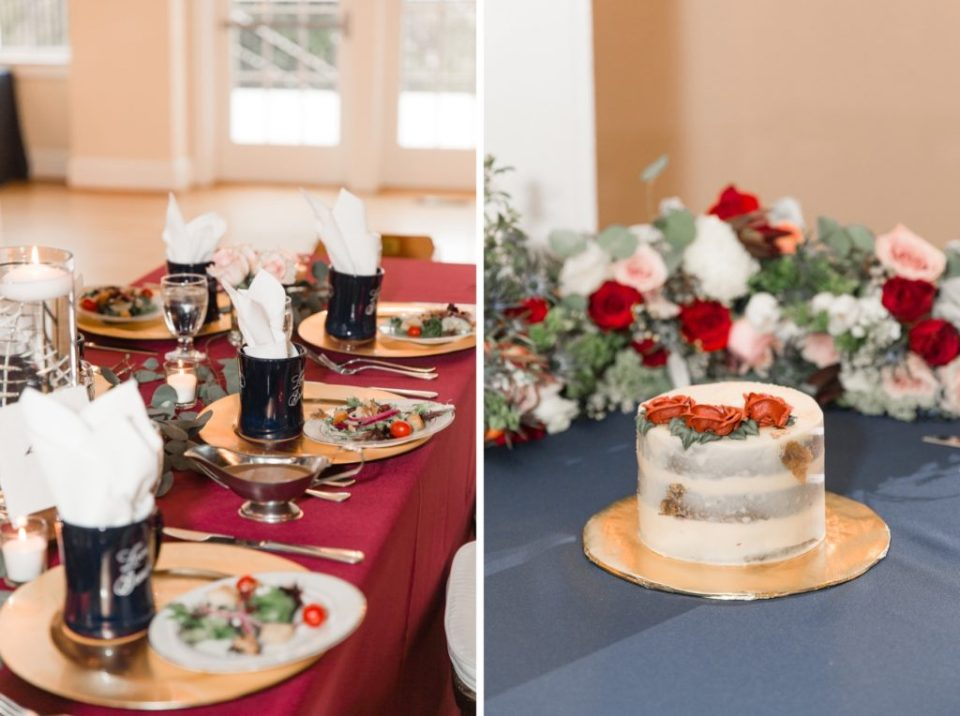 Winter Wedding at The Women's Club of Portsmouth
