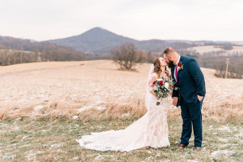 Winter Elopement Style Wedding