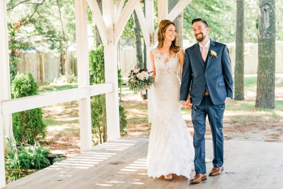 Bride and Groom Portraits at Abbie Holmes Estate