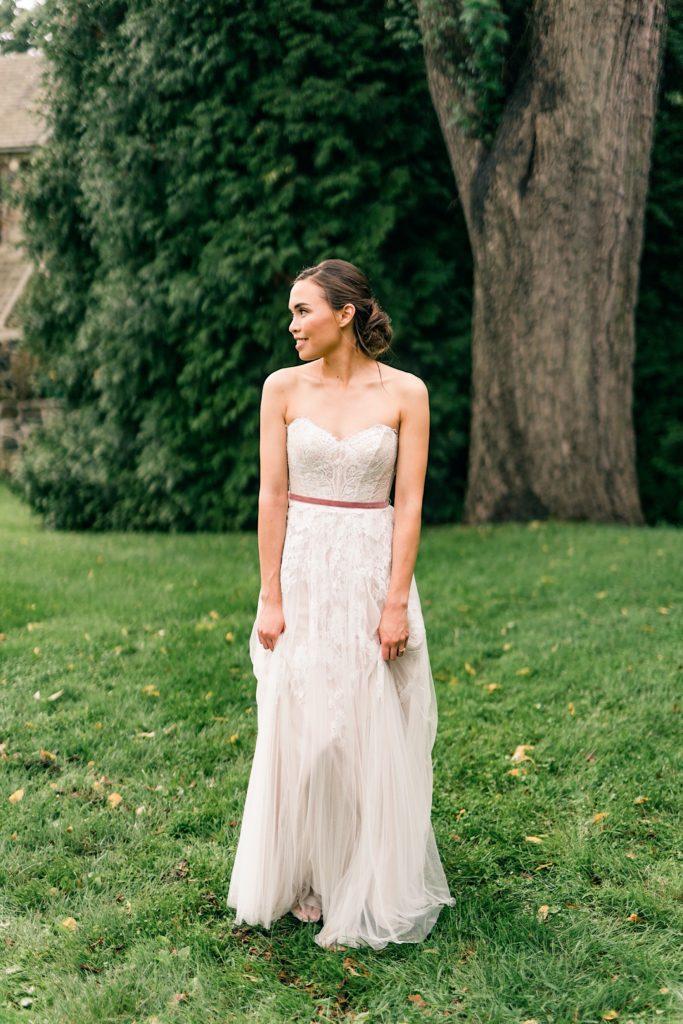 Bridal Portraits at Anthony Wayne House Photos