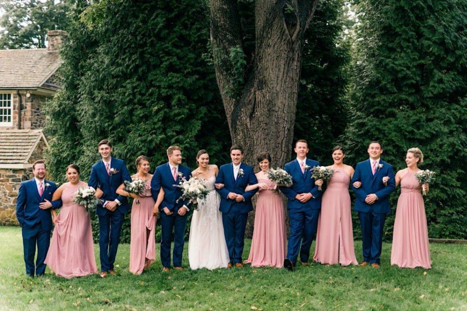 Wedding Party at Anthony Wayne House photos
