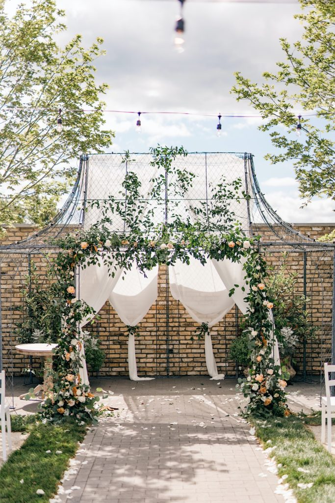 Ceremony Details Terrain Gardens Micro Wedding Photos