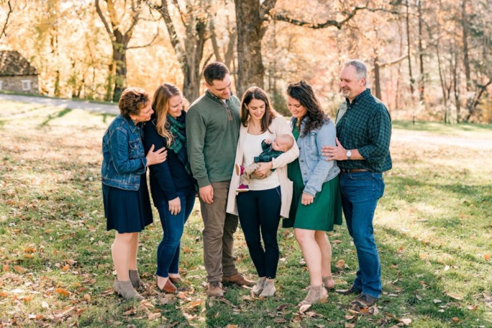 Fall Mini Sessions in Valley Forge National Park