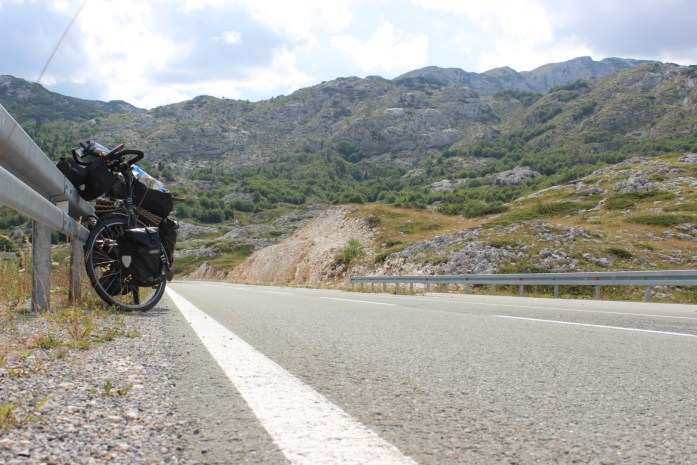 Bike touring adventure in the steep but beautiful mountains of Montenegro.