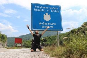 Reaching Serbian border.