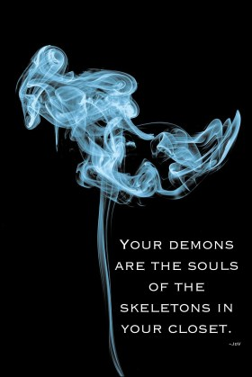 demons, meditation, mindfulness