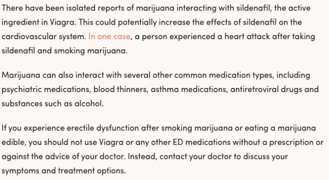 erectile dysfunction, marijuana