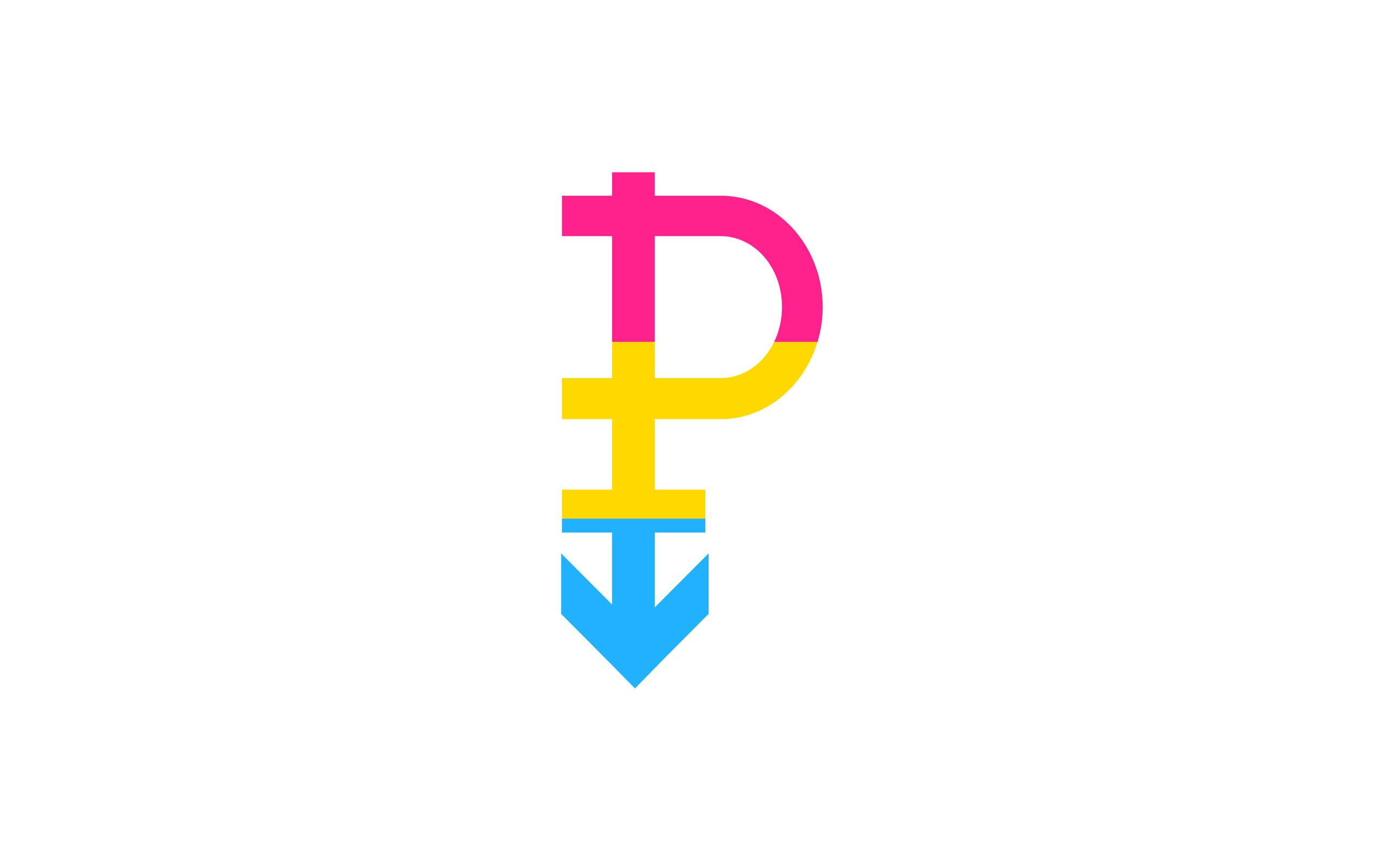 Pansexual symbol