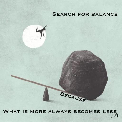 balance, polarity