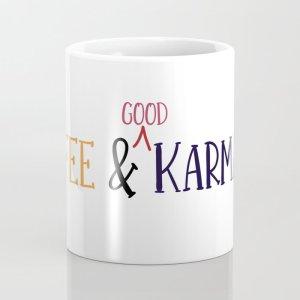 coffee, cup, karma, mindfulness