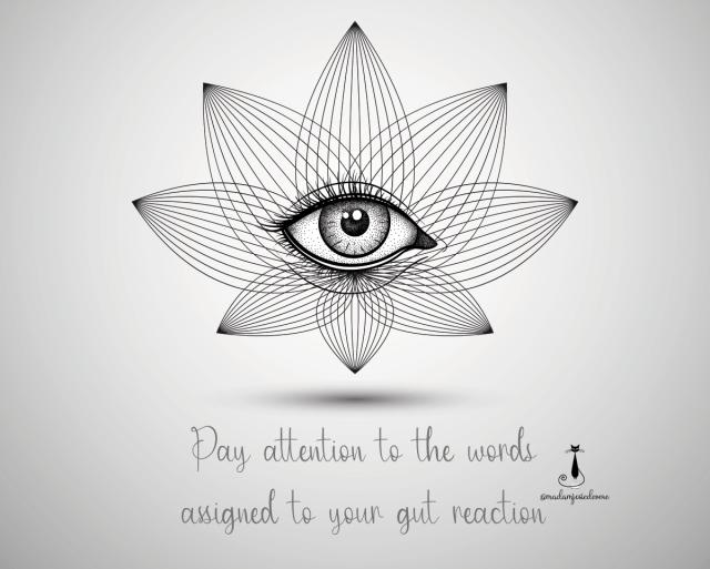 gut reaction, trust your gut, inner wisdom, intuition, instincts