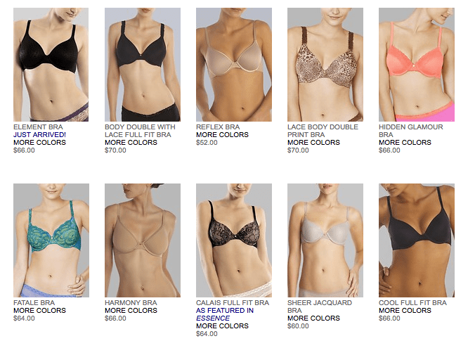 Image result for What does a well-fitting bra look like?