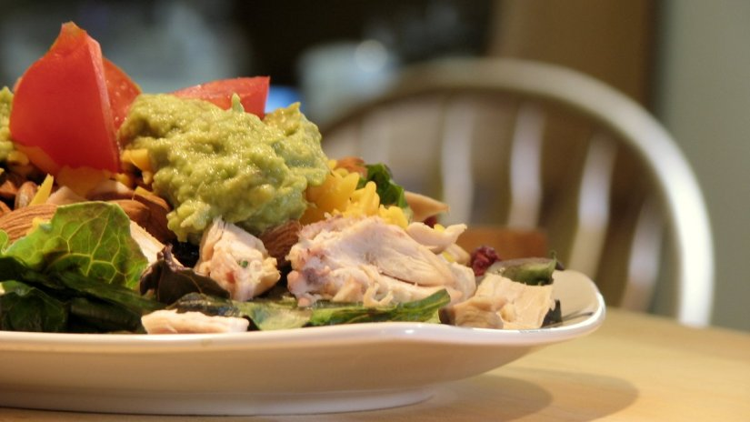 Summer Chicken Avocado Salad