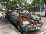 We saw this cool fishing inspired car on the streets of Key West