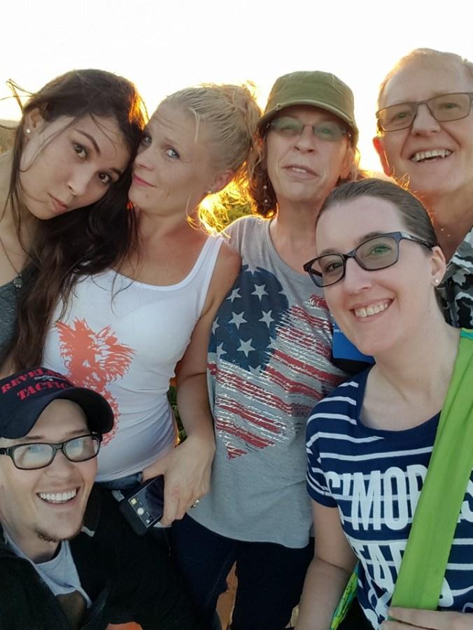 Front: Ike Siler, Josie Siler Back: Aubrey Wait, Janell Javis, Annie Siler, Randy Siler