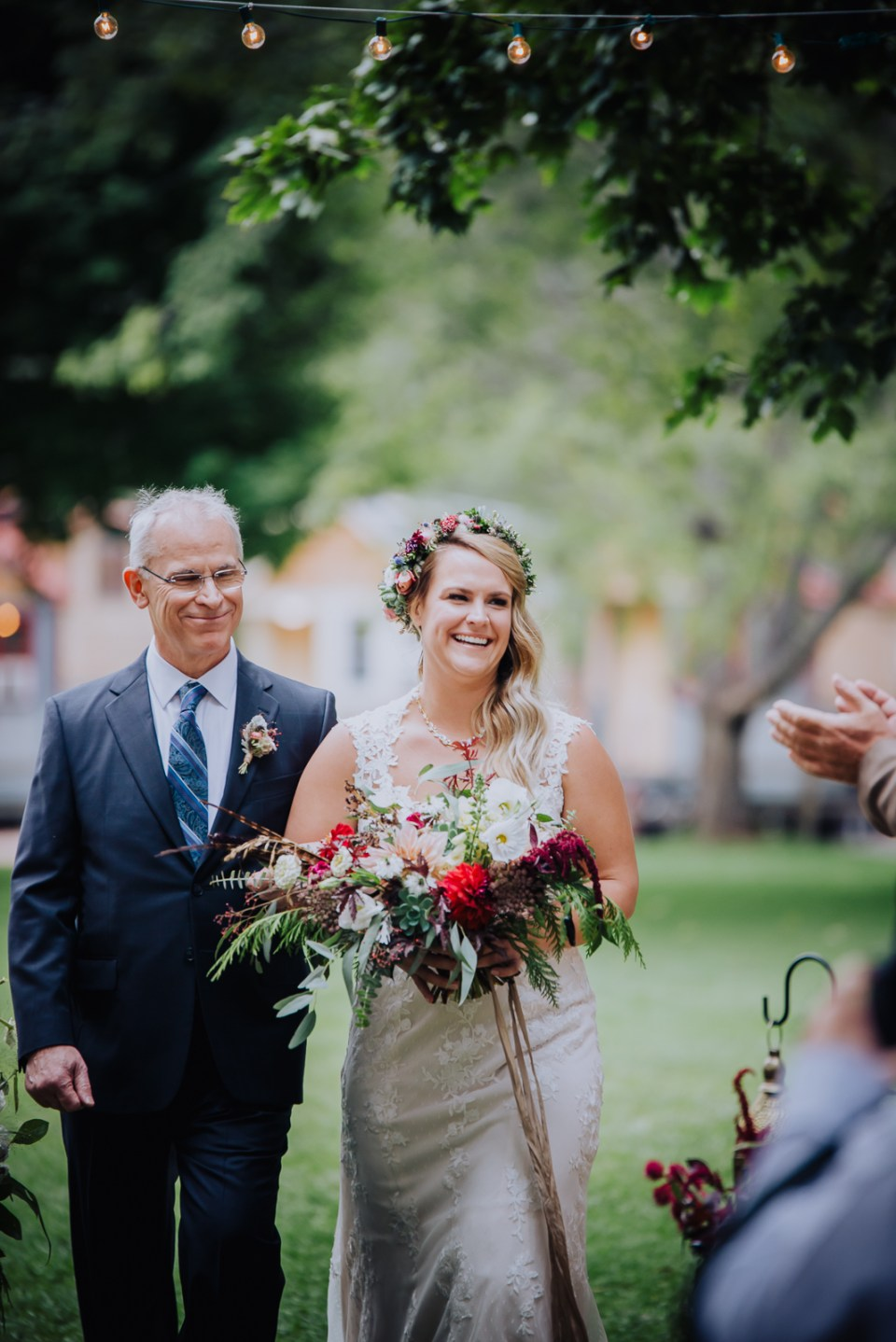 Down to Earth Colorado Wedding | Wedding Photography | The Riverbend Lyons | Josie V