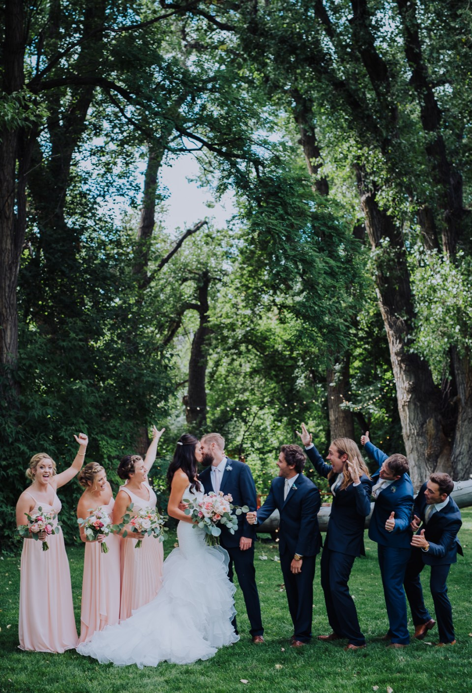 Whimsical Rustic Wedding | Lyons Farmette Colorado | Wedding Photography | Josie V