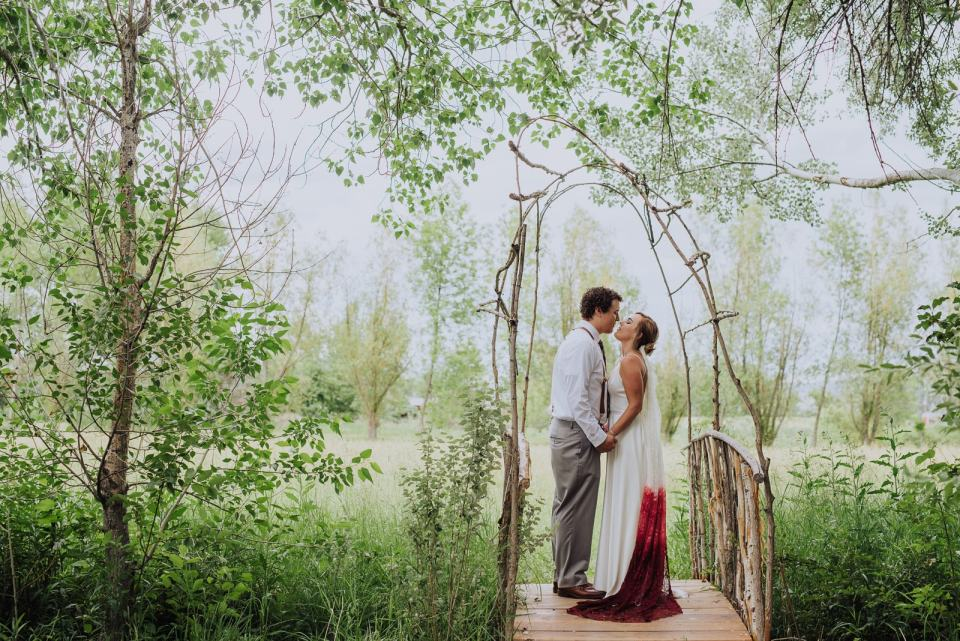 Bohemian Colorado Wedding | Lone Hawk Farms | Wedding Photography | Josie V