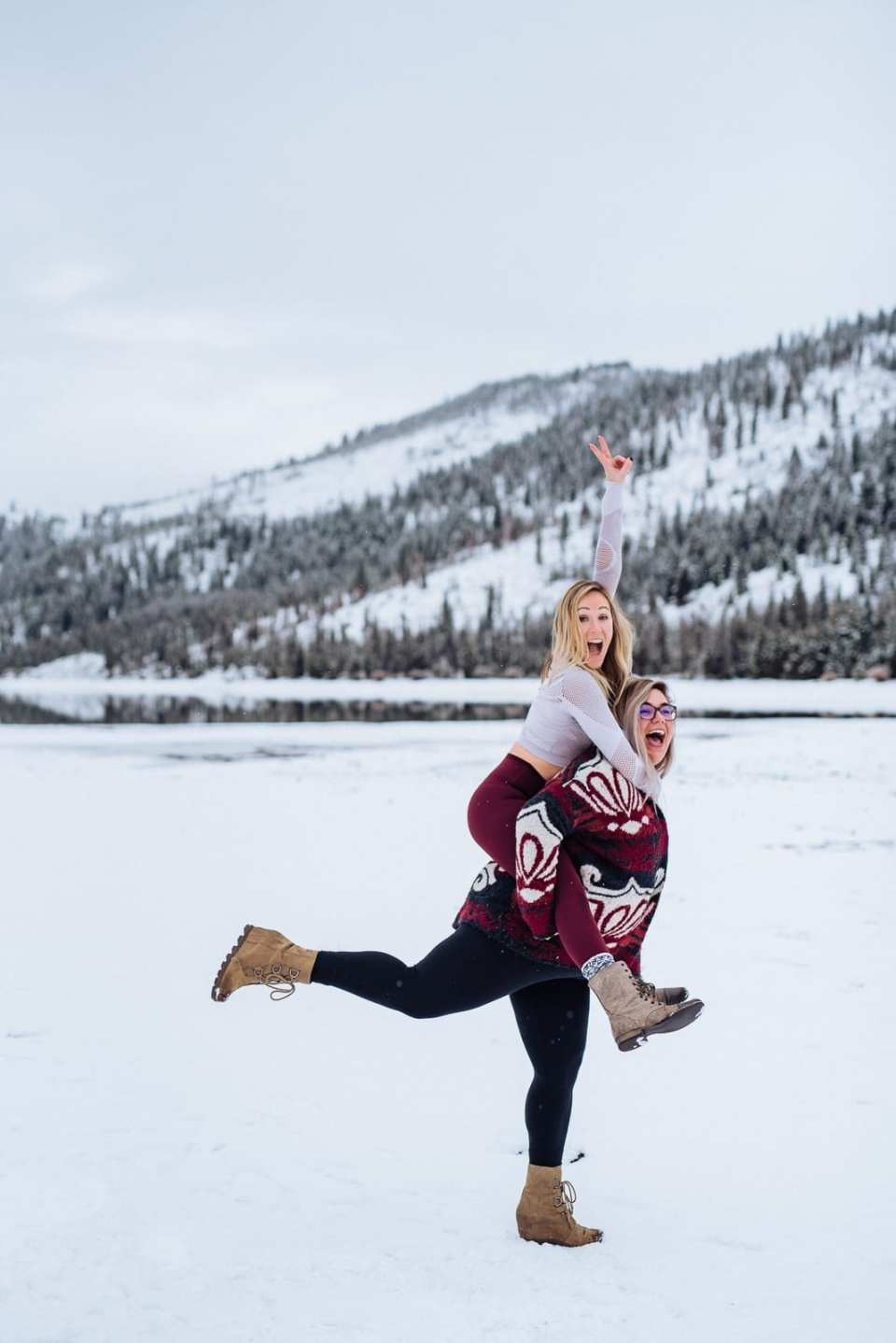 Colorado Winter Photoshoot | Josie V Photography