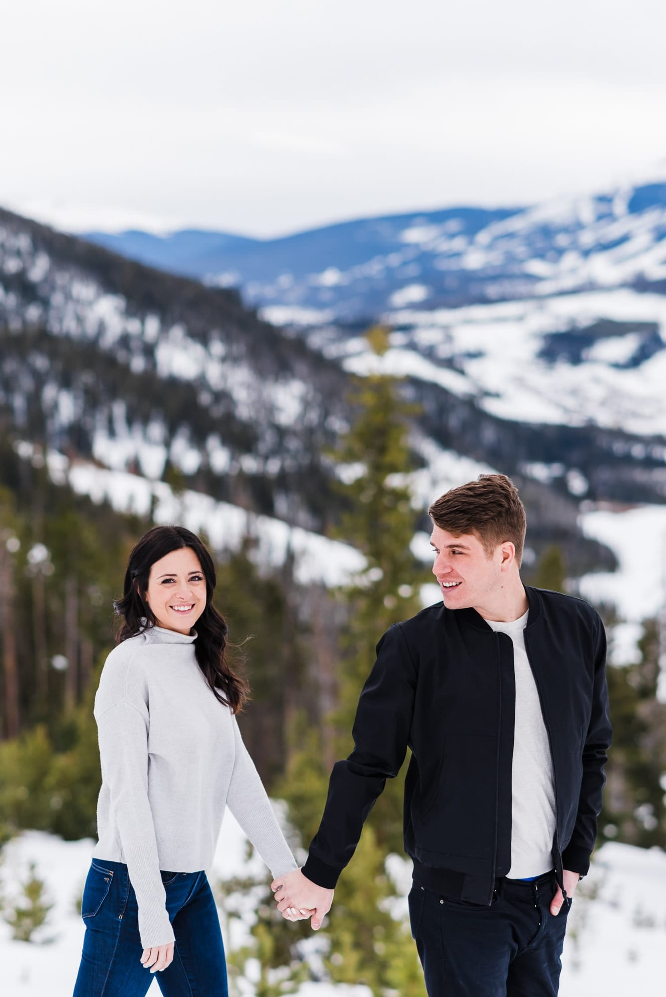Colorful Colorado engagement photos by Josie V