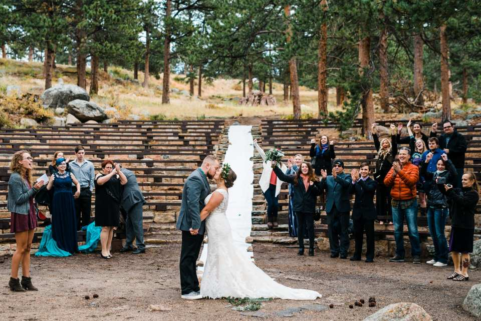 Rocky Mountain National Park Wedding Photography by Josie V