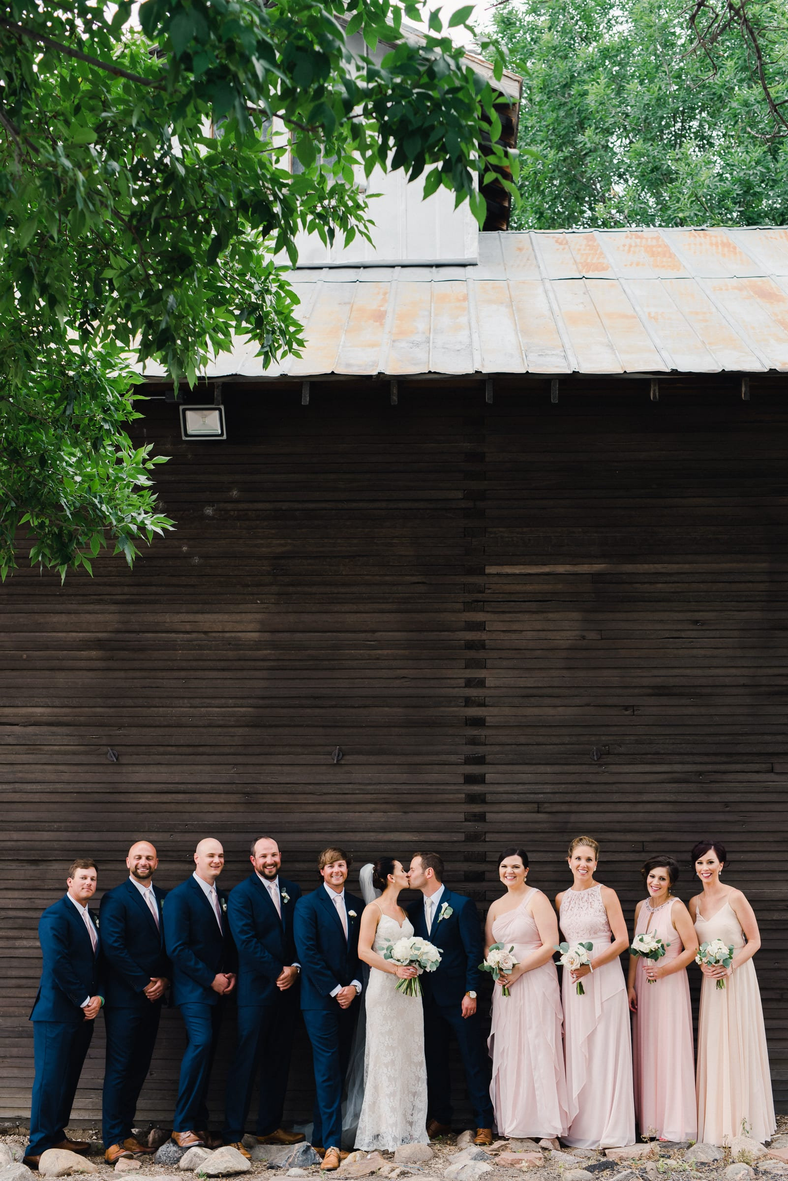 Rustic Barn Colorado Wedding Venue by Josie V Photography