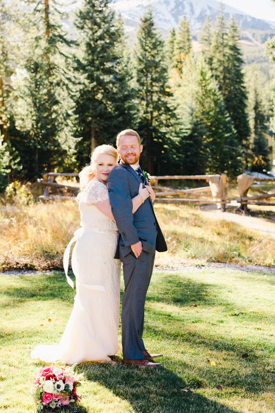 Breckenridge Fall Wedding | Josie V Photography